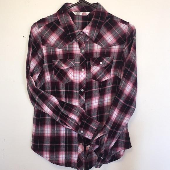 6e894ccd7 Cumberland Outfitters Plaid Western Shirt M. M_5a89baee9d20f090ffde0ef1